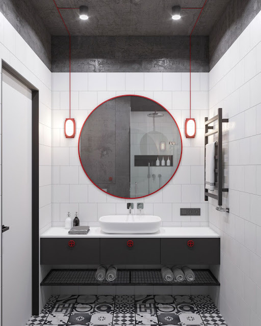 Home Interior Design Modern Bathroom