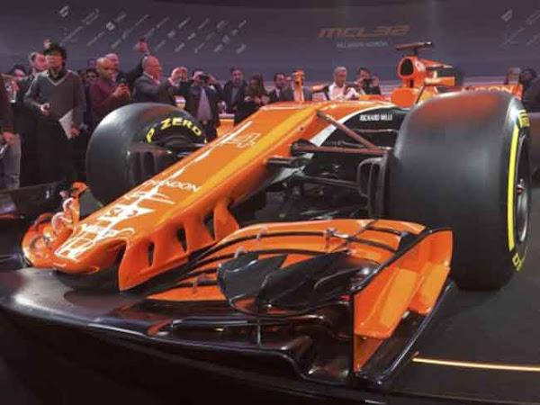 Presentado el nuevo  McLaren MCL32 de Alfonso