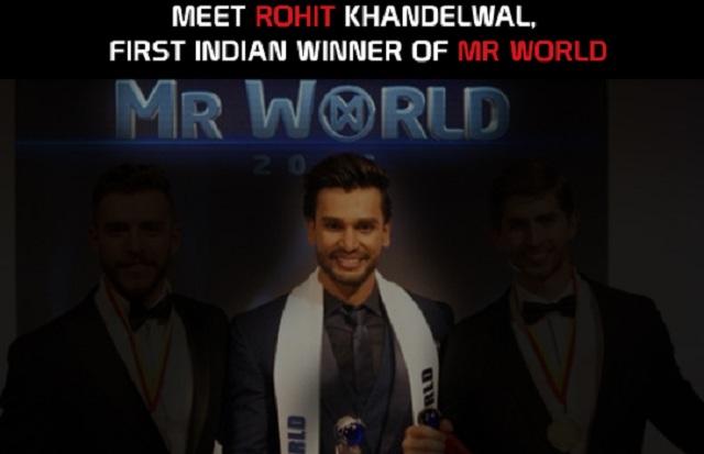Profil Rohit Khandelwal Mister World 2016 Serta Foto