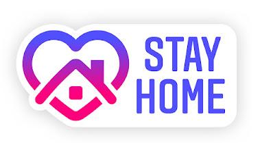 stay at home dirumahaja