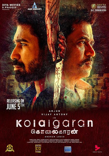 Kolaigaran 2019 Tamil 720p WEB-DL 1GB With Subtitle