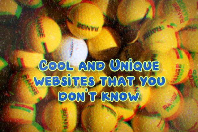 13 Unique Websites