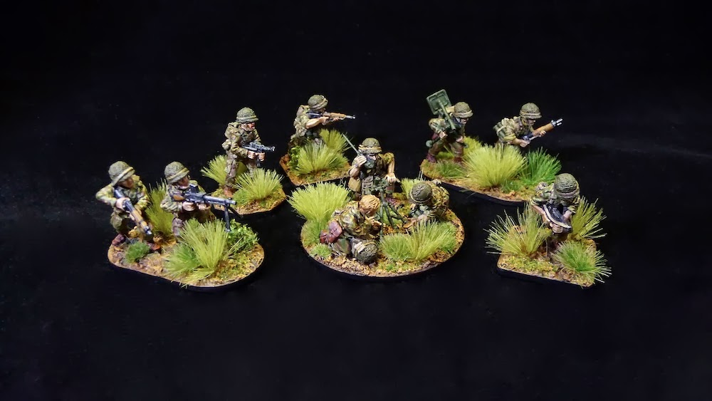 Analogue Hobbies: From Curt: 28mm French Paratroopers in ...