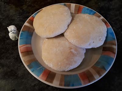Pan de pita sin gluten de Ricardo