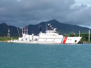 Kapal Patroli Pangkalan PLP Tanjung Priok Sosialisasikan Penerapan TSS Selat Sunda