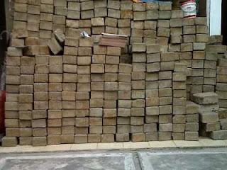 Harga paving block bekas