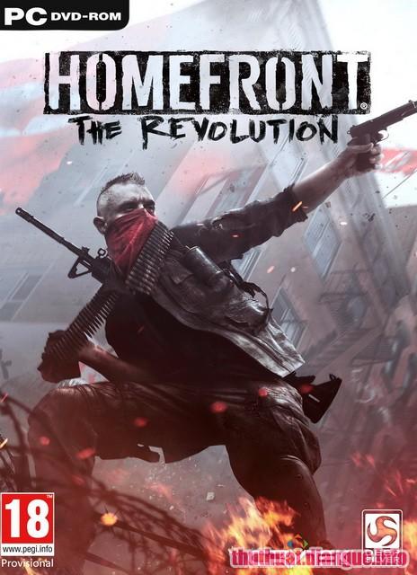 Download game hành động Homefront The Revolution Full crack