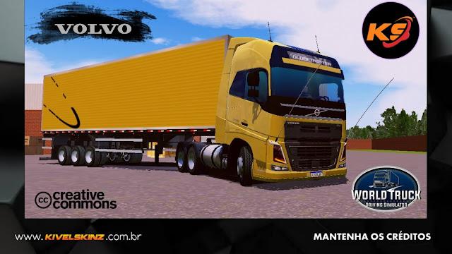 VOLVO FH16 750 - DOURADO QUALIFICADO