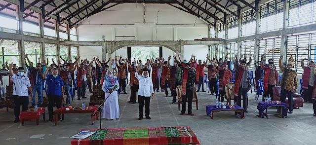 Komunitas Batak Merangin Pilih Menangkan Pasangan Haris-Sani