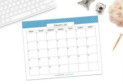 http://kraftyplanner.com/free-printable-january-2019-calendar/
