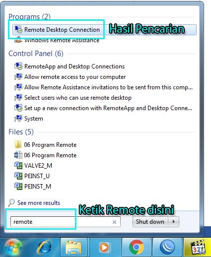 Applikasi Remote Komputer Cara Konfigurasinya My Labs