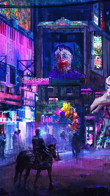 cyberpunk wallpaper