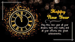 Kata Kata Ucapan Selamat Tahun Baru 2020 ( Happy New Year 2020 ) Bahasa Inggris dan Artinya