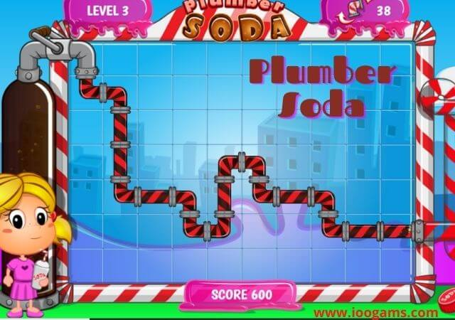 Plumber Soda game - Free Play online game on ioogames.com