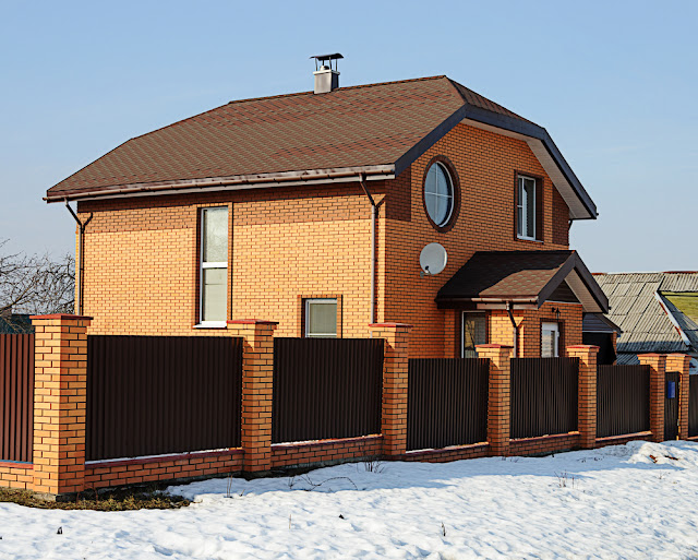 brick fences for home