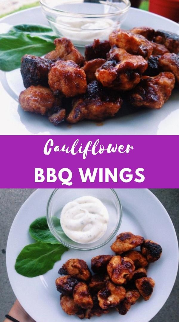 Cauliflower BBQ Wings