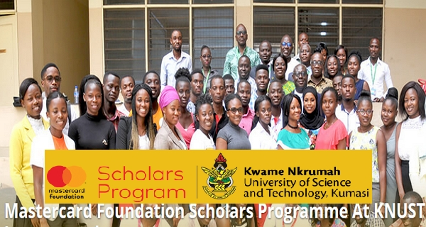 Bourse de la Fondation Mastercard 2021/2022 à l'Université des sciences et technologies Kwame Nkrumah (entièrement financée)