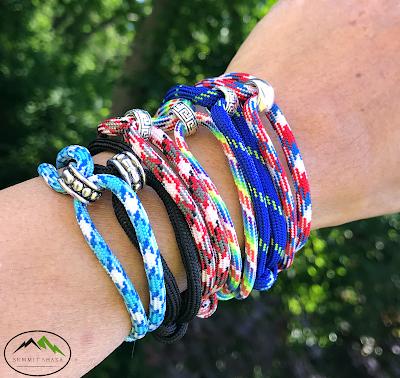 wholesale bracelets, paracord, beads, adjustable, summit shaka, men's bracelet, women's bracelet