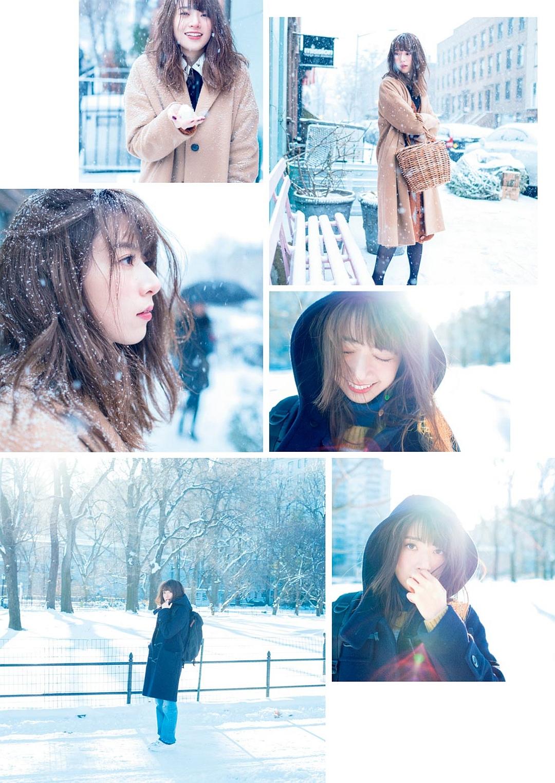 橋本奈々未の雪