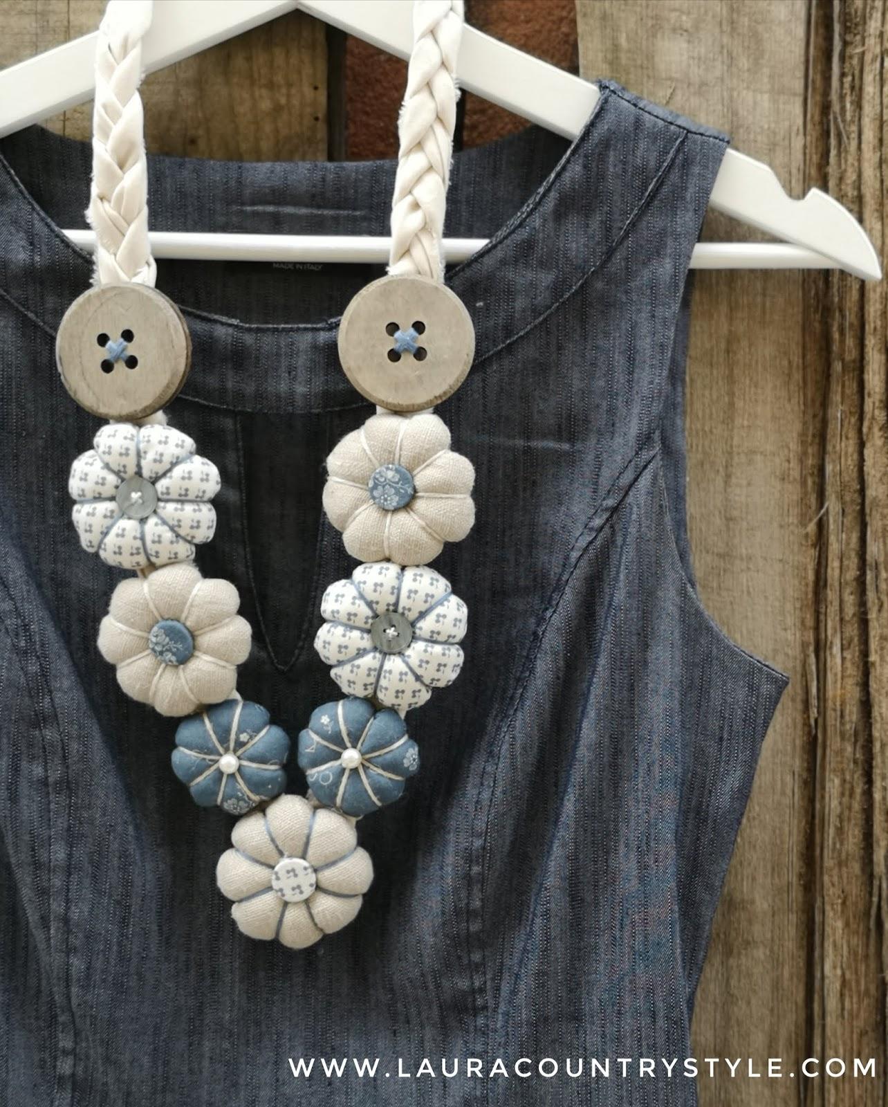 bene fuori x all'avanguardia dei tempi varietà di design Laura country style: Coastal necklace