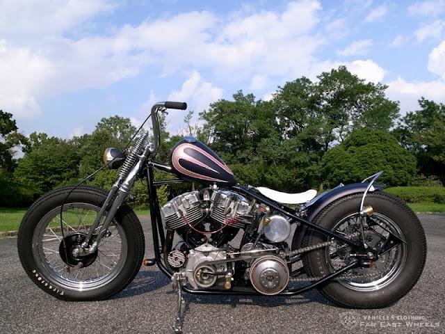 Harley Davidson Shovelhead By Far East Wheels Hell Kustom