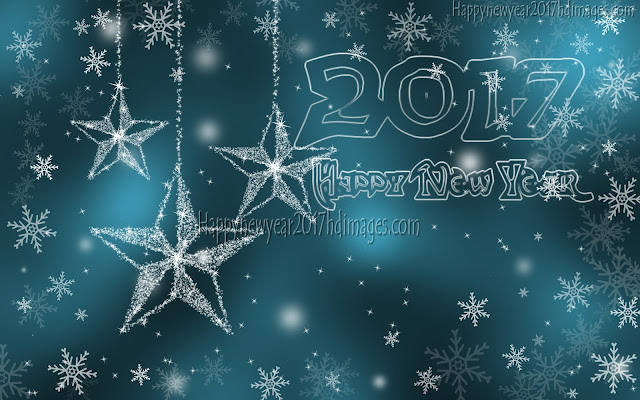 Happy New Year 2017 HD Sparkling Desktop Wallpapers