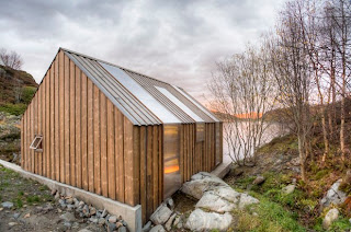 Rehabilitacion de casa en Noruega