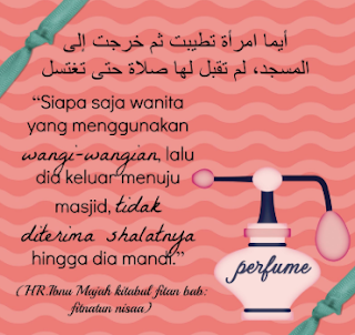 Hukum Wanita Memakai Minyak Wangi Dalam Islam