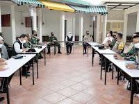 Forkopimda Jatim Gelar Rakor Analisa dan Evaluasi Penanganan Covid-19 di BPWS Bangkalan
