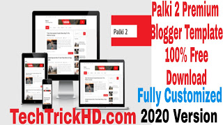 Palki 2 Premium Blogger Template 100% Free Download