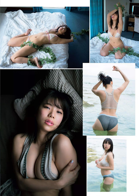 Suzuki Fumina 鈴木ふみ奈 Weekly Playboy No 23 2016 Images 04