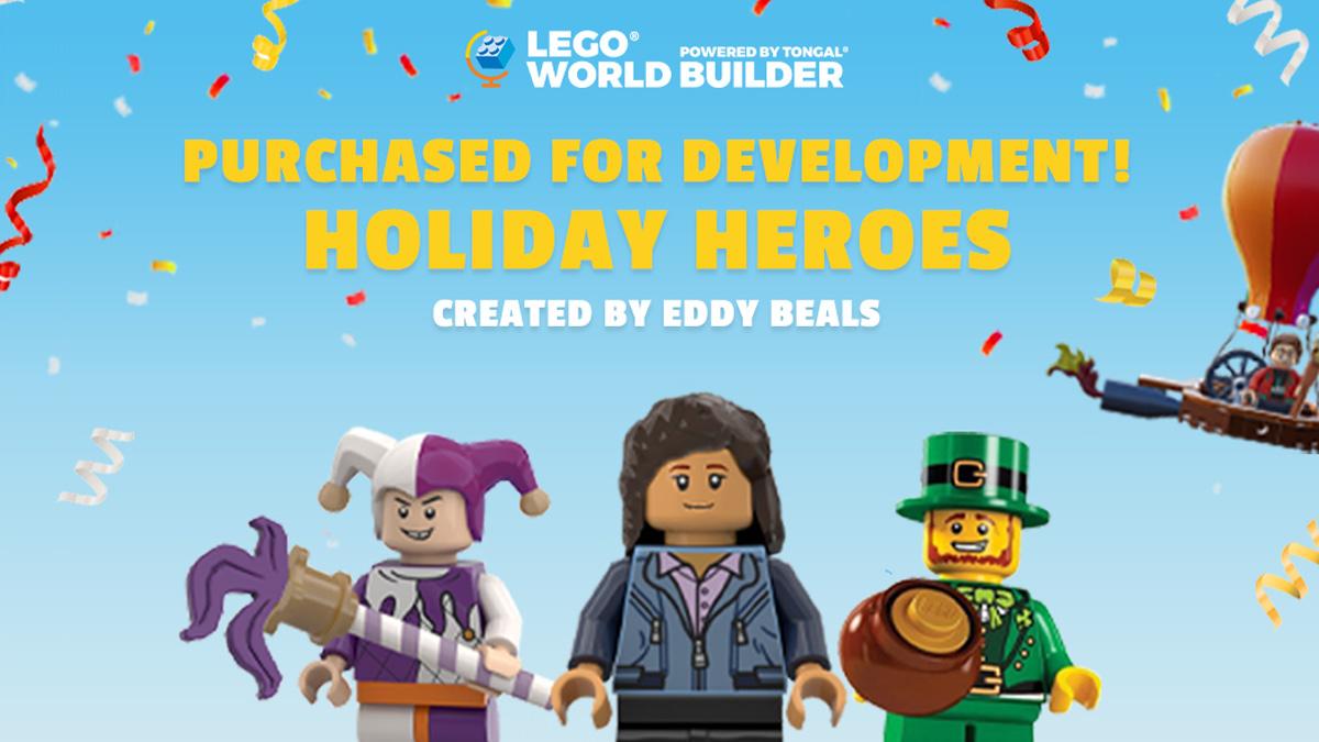ファンコンセプトをレゴ製品化する企画『ワールドビルダー』最初の買い取り作品が決定