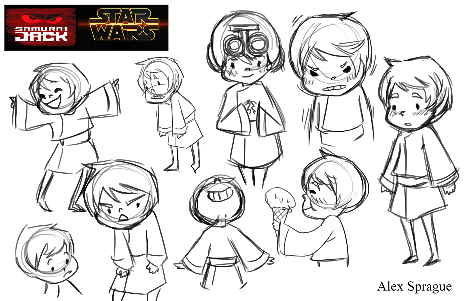 2016 Character Concepts: Star Wars x Samurai Jack (Week 4)