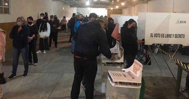 #Elecciones2021 Numerosa votación en zonas metropolitanas de las principales ciudades del país