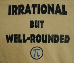 Irrational but well rounded