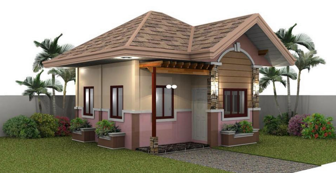 Outer design of beautiful small houses home mansion Very small homes