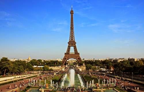 thành phố Pháp Khải Hoàn Môn tháp Eiffel