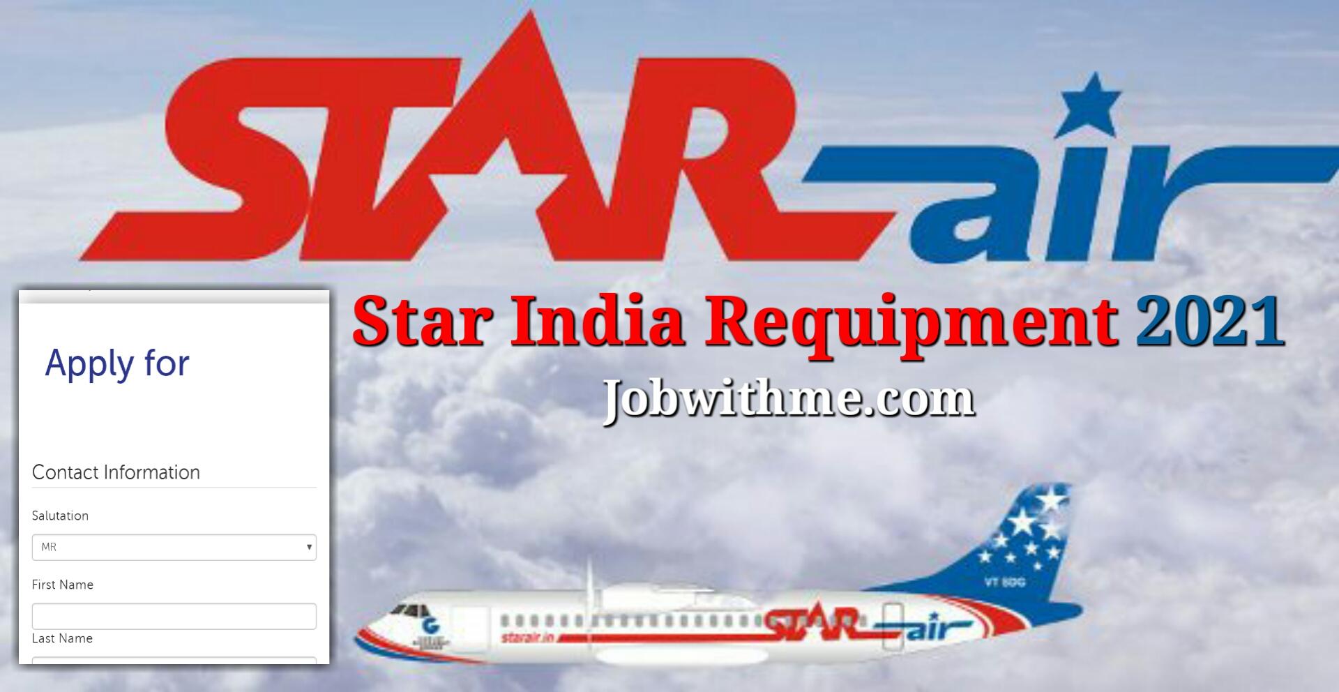 Air India job 2021