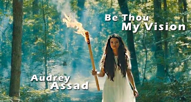 A Screen Capture From The Video:  Audrey Assad — Be Thou My Vision