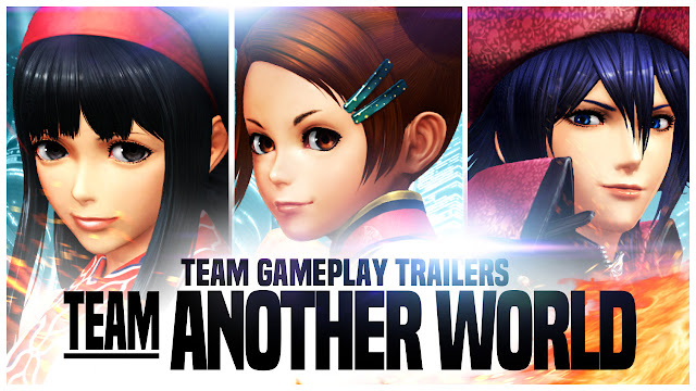 Conoce al equipo Another World de The King of Fighters XIV 1