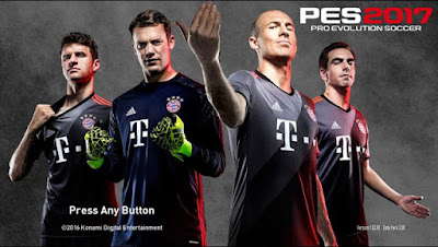 Ez.Com PES 2017 Start Screen Pack V5