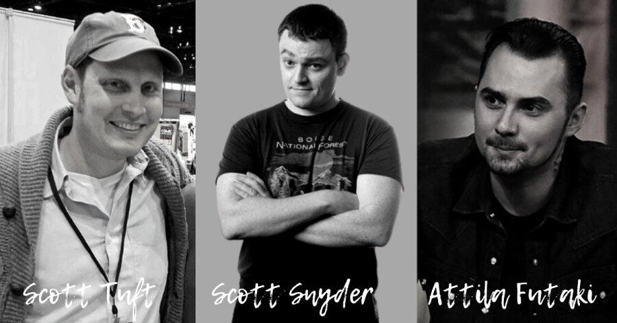 Scott Snyder, Scott Tuft e Attila Futaki