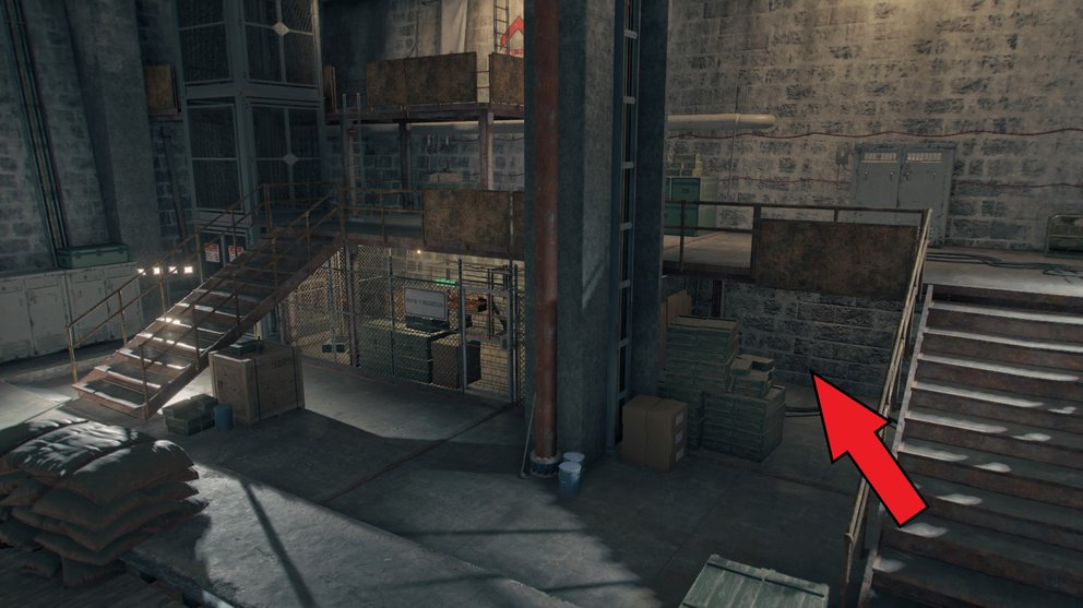 To the right of the locked door there is a hidden area (Far Cry 6).