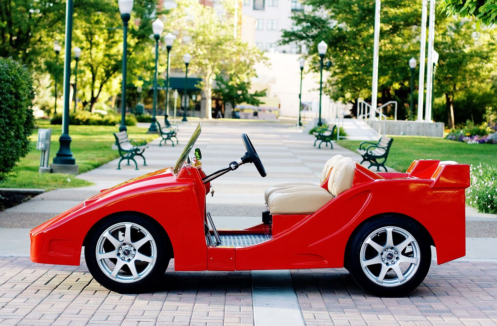 Pennwick Custom Golf Carts