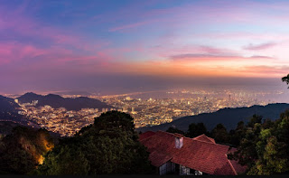 Tempat Wisata di Penang : Bukit Bendera