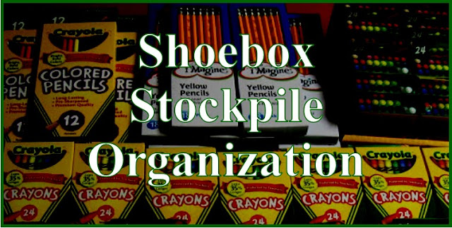 Shoebox Stockpile Organization Tips