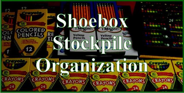 Shoebox Stockpile Organization Tips