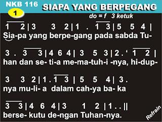 NKB.116 SIAPA YANG BERPEGANG
