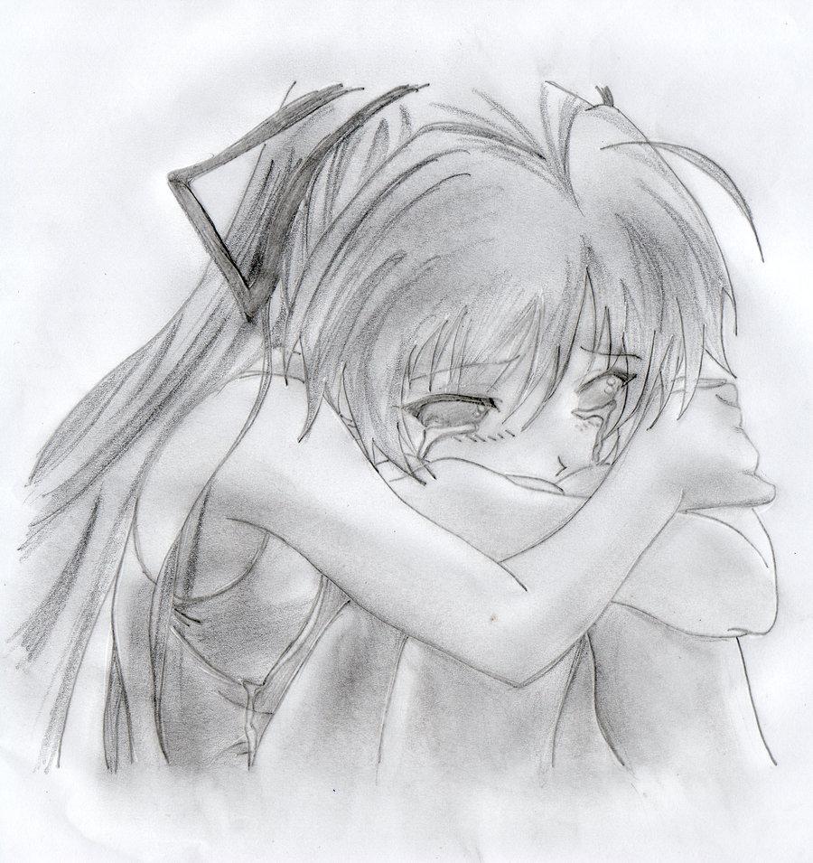 Manga Girl Crying Drawings