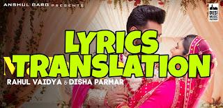 Madhanya Lyrics in English | With Translation | – Rahul Vaidya x Asees Kaur